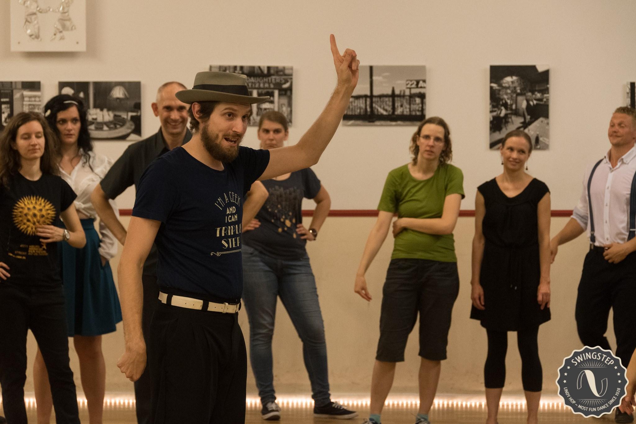 Tanzpädagoge Oliver Fuhrmann SwingStep Berlin